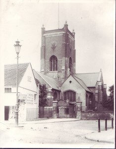 Kingston Church in 1900