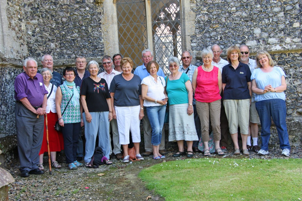 Kingston bell ringers outing to Norfolk 2014