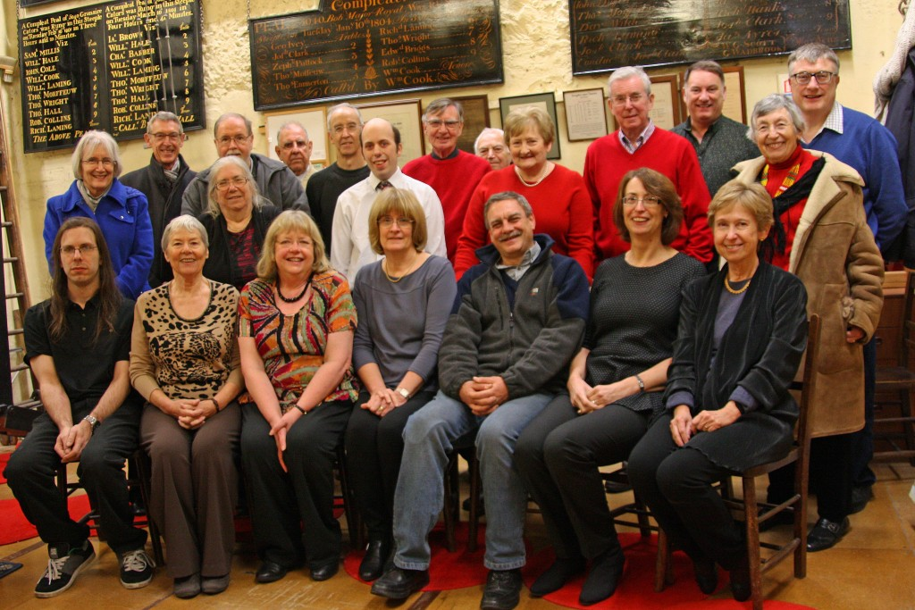 Ringers ringing in the New Year 2015